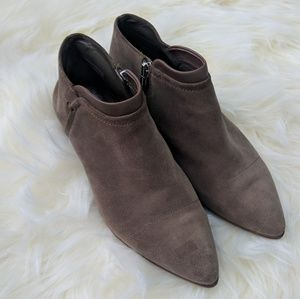 Vince Camuto Jody suede pointed toe booties